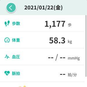 【ダイエット】運動なしで食事だけでも減ってた47日目