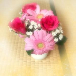 お花をいただいた。