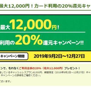 三井住友VISAカード 20%還元のキャンペーンをさらにお得にする方法 カードを発行するならECナビ経由で3,000相当のポイントを獲得可能です