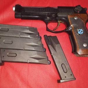 マルイ 旧M92F系のブローバック・・・