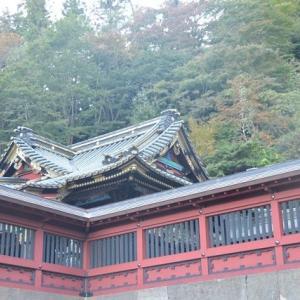 妙義神社は白雲山の中腹の高い所にあります 3