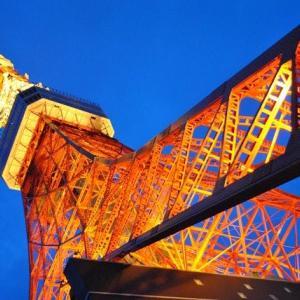 東京タワーライトアップの迫力ある景色 8