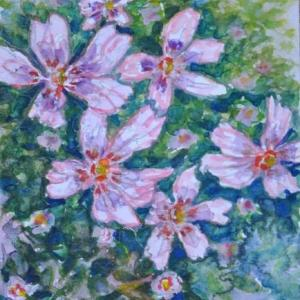 桜草の絵 2-22