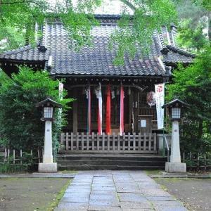 朝の散歩で長崎神社に参拝する  2-18