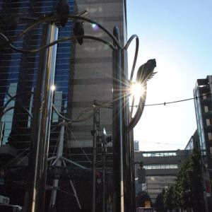 早朝の散歩 池袋西口の東京芸術劇場  44