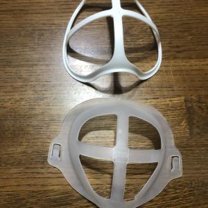 マスクのインナーフレームが手放せない
