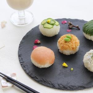 しゃけフレークで簡単!手まり寿司&いちごプリン