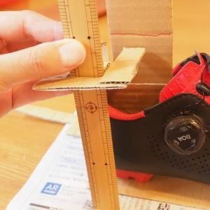 タイムのペダルとシマノSPDペダルでスタックハイトを比較