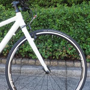 クロスバイクのホイールを交換(なんちゃってピナレロ化)