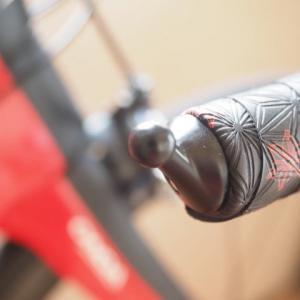 バイク横転で外れたバーエンドミラーを取り付け直す(キャットアイ BM-45)