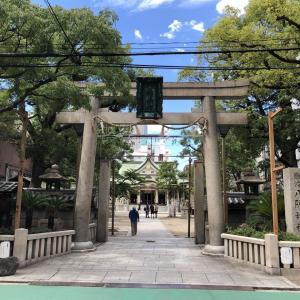 284.難波八阪神社(大阪府大阪市)