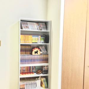 大量の本の断捨離と新しく本棚