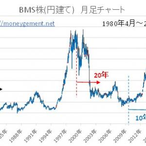 BMS株積み立て運用5~39年 過去シュミュレーション-1911