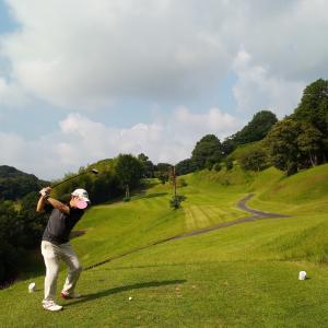 夏本番/ゴルフ、冷やし中華