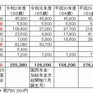 税金支払い額確定 水無月備忘録(2021年Jun)②