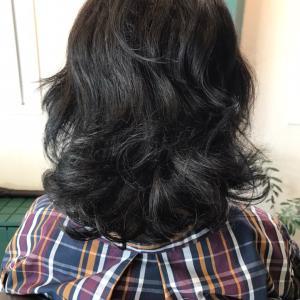 毛先のくせを活かした髪質改善