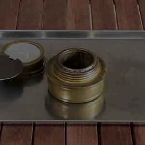 【ブログ】缶詰のフタとハサミだけでトランギア消火フタの取っ手問題を解決