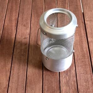 【ブログ】100均の三角コーナーと空き缶で自作ランタン