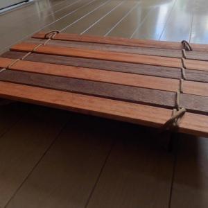 【DIY】すのこでキャンプ用ミニテーブルを作ってみた type2