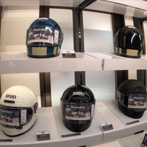 【原付二種】神田にあるSHOEI Gallery TOKYOへ行ってヘルメットを買ってきた