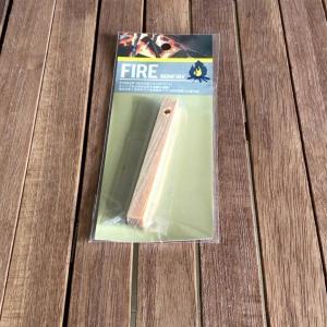 【blog】100均ティンダーウッドの着火テスト