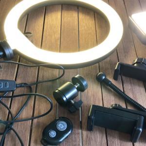 【blog】撮影用のLEDライトとリングライトの明るさと色味を比べてみました