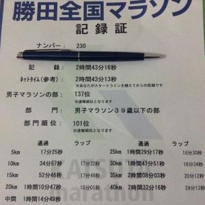 【低体温症のトラウマ級大撃沈】勝田マラソン