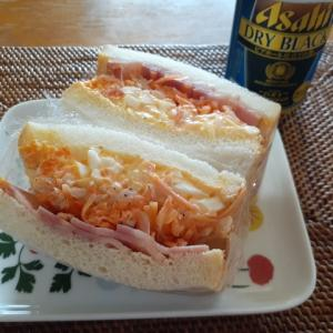 サンドイッチなう。
