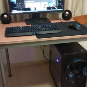 自作PCが完成しました!