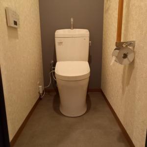 トイレも完成しました!