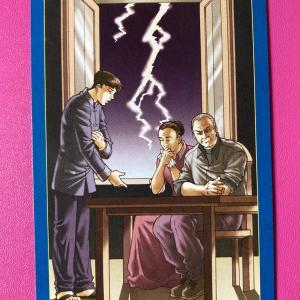 【今日のカード】ゲイタロットのタワーのカード