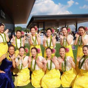 ⭐️高槻ALOHAama Paka踊ってきました
