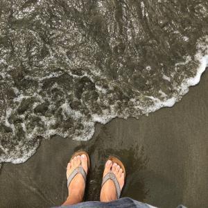 ⭐️ 電車で海へ!海水最高❤️