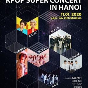 ☆テミンが来年1月11日に「K-POP SUPER CONCERT」出演~(^・^)