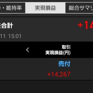 待ちに待った利益確定(^-^)/&俳句ポスト『重陽』