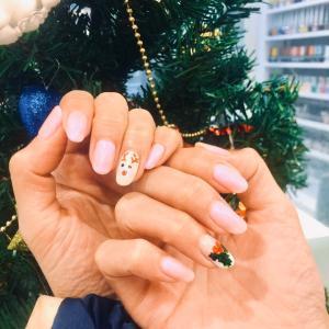 クリスマスネイル♡もういよいよだ。