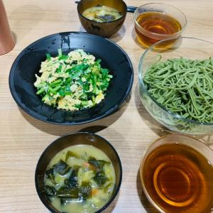 食べても大丈夫。我が家の夕飯、相変わらず雑ですが。