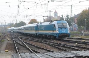 機関車交換 (ドイツ・GERMANY)