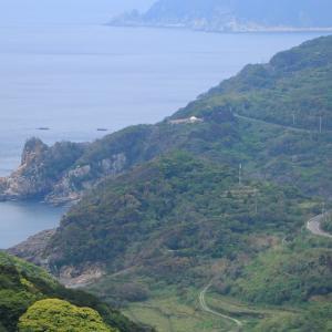 【五島2-2】福江島南部は山岳コース!奄美大島を彷彿とさせる樹林と海