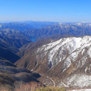 【2019年4月雪山】越美山地の最高峰!「能郷白山」ロング雪山ピストン(前半)
