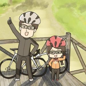【紹介】サイクリストなら共感できる4コマ漫画「ぴよぴよ貧脚夫婦」!【自転車漫画】