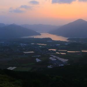 【五島3-1】城山から見る朝焼けの感動と爽快な船旅