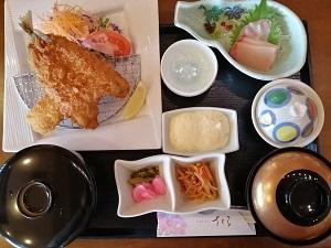 鳩子の湯 レストランさくら