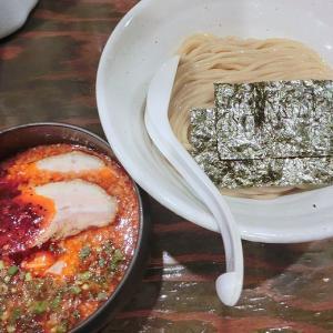 札幌 Fuji屋 (中央区) 辛化つけ麺 並盛 ヤバイ! & 特製納豆ご飯