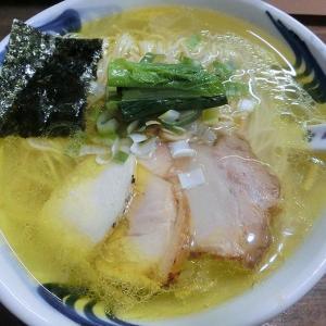 我流麺舞 飛燕 (豊平区) 小樽地鶏の中華そば 塩 大盛り