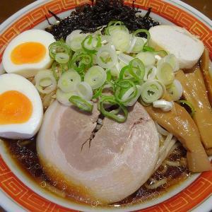 西山ラーメン すみれ醤油スープ