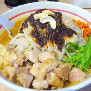 らー麺 シャカリキ (豊平区) 限定 シャカタン 汁あり 辛揚げ