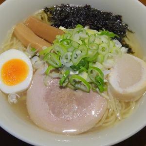 ベル食品 札幌二十四軒 まろやか塩ラーメンスープ × 麺屋 漣華さんの麺
