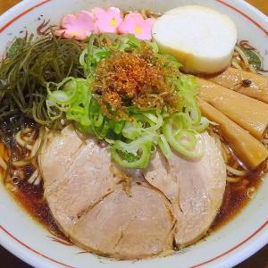 ベル食品 札幌二十四軒 深あじ正油ラーメンスープ  × 麺屋 漣華 さんの麺
