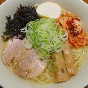 菊水 北海道ラーメンスープ 旨塩 × 麺屋 漣華 さんの麺